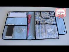 PASTA UNIVERSITÁRIA PARA VOLTA AS AULAS - YouTube Sewing Crafts, Sewing Projects, Diy Bags Purses, Diy Nightstand, Denim Crafts, Art Bag, Wall Organization, Fabric Bags, Jewelry Case