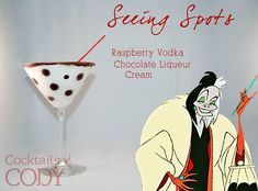 Disney Princess & Villain Cocktails! Thanks Cocktails By Cody for creating this amazing drinks! More of his work is right here - https://www.facebook.com/media/set/?set=a.1444118769154040.1073741831.1433729390192978&type=3