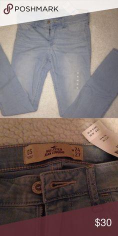 Hollister Jean legging Light wash. NWT never been worn. Hollister Jeans Skinny