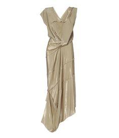 Satin Lame Cartie' Dress #AW16