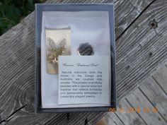 Vintage Genuine Diamond Dusted  Eagle Money Clip #NotKnown