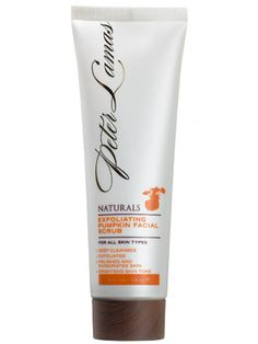 Pumpkin-spiked products: Peter Lamas Naturals Exfoliating Pumpkin Facial Scrub