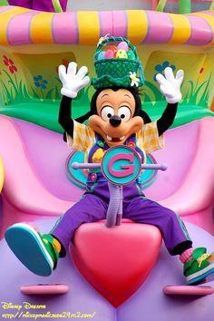 Max Goof celebrating Easter