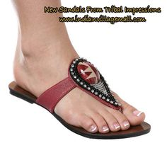 New Sandals coming  from Tribal Impressions -  http://www.indianvillagemall.com