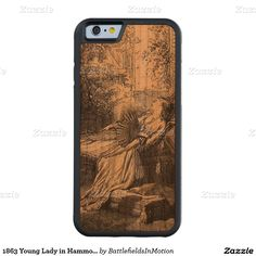 1863 Young Lady in Hammock - Carved® Cherry iPhone 6 Bumper