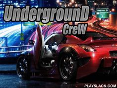 Underground Crew  Android Game - playslack.com , Take part in felonious street race. steer your sport vehicle along night-time roadways of a big municipality and strive to get to the complete first. Become the champion street driver in this Android game. contest the powerful contestants and outstrip them at any value. stride on the  gas and motion along the line at mad speed. Be mindful on the street and elude contacts with other automobiles and other hindrances. Get cash for successes in…