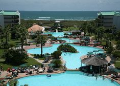 Port Royal Resort in Port Aransas, Texas. Took the teenagers here for spring break once and had a great time!