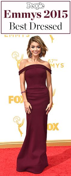 The best-dressed celebrities at the 2015 Emmy Awards
