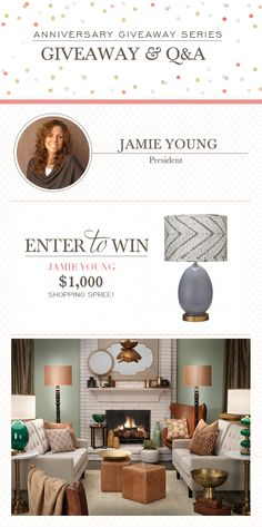 Jamie Young Giveaway and Q&A! #laylagrayce #lgturns10