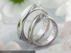 Gothika – karikagyűrű pár