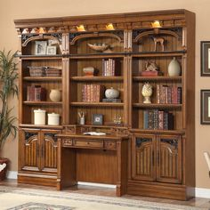 Parker House Barcelona Space Saver Bookcase Library Wall With 2 Piece Library Desk Sideboard Table, Sideboard Furniture, Small Space Storage, Storage Spaces, Metal Tv Stand, Bookshelves, Bookcase, Vintage Hutch, Parker House