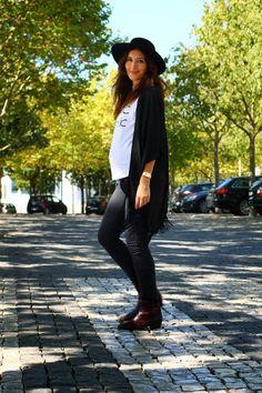 AX PARIS KIMONO pregnancy | STREET STYLE | MATERNITY | PREGNANCY