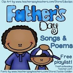 FREE Playlist #FathersDay - Songs and Poems
