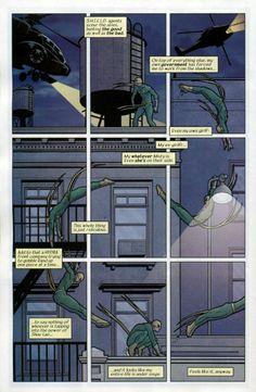 Some Immortal Fist processes by David Aja.