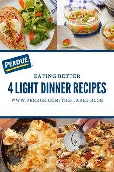These recipes revamp classic dishes with a healthier twist. perdue Thin Sliced Chicken, Fresh Chicken, Soup Recipes, Chicken Recipes, Dinner Recipes, Health Eating, Everyday Food, Healthy Alternatives, Tasty Dishes