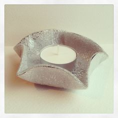 Recycled Materials Crafts cds   ... Recycled Cd Tea light holders in accessories with Recycled CD
