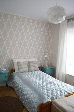 sypialnia z dodatkiem mięty