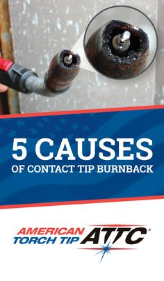 What's happening when your MIG wire burns back to the tip and what are the quickest ways to diagnose & fix it? Here are 5 common causes of contact tip burnback. Mig Welding Tips, Pipe Welding, Welding Gear, Welding Shop, Welding Rods, Welding Training, Arc Welding, Custom Metal Fabrication, Welding And Fabrication