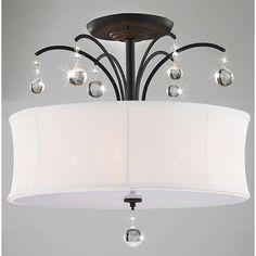Warehouse of Tiffany 5 Light Crystal Chandelier | Wayfair