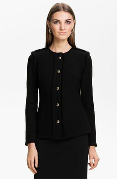St. John Collection Bouclé Knit Jacket available at #Nordstrom
