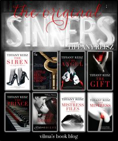 THE ORIGINAL SINNERS SERIES by Tiffany Reisz