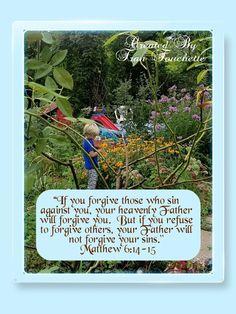 Bible Verse For Today, Bible Verses, Bible Forgiveness, Forgiving Yourself, Jesus Quotes, Baseball Cards, Sayings, Lyrics, Scripture Verses