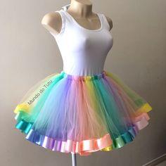 Unicorn Outfit, Unicorn Costume, Summer Outfits For Teens, Summer Dresses, Adult Tutu, Diy Tutu, Halloween Disfraces, Look Cool, Portfolio Design
