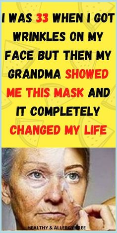 I Was 33 When I Got Wrinkles On My Face But Then My Grandma Showed Me This Mask And It Completely Changed My Life How To Start Exercising, Skin Bumps, Health Planner, Healthy Lifestyle Habits, Routine Planner, Medicine Book, Gym Workout For Beginners, Good Mental Health, Oral Health