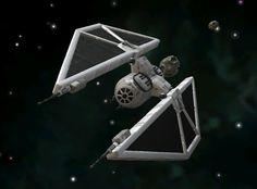"Tie/sk x1 experimental air superiority fighter ""Striker"""