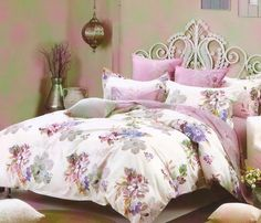 Lenjerie de pat din bumbac Valentini Bianco TB010/1 Decor, Bianco, Bedroom, Bed, Home Decor, Comforters, Dinning, Furniture