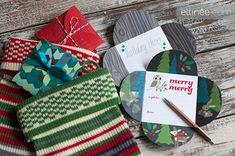 Printable Christmas Petal Cards