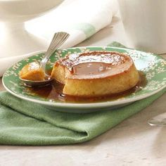 Dad's Pumpkin Flans Recipe: double the pumpkin and reduce eggs to 2 full eggs and 3 egg whites. So good!