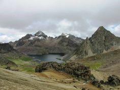 Un paisaje Huancavelicano, Perú.