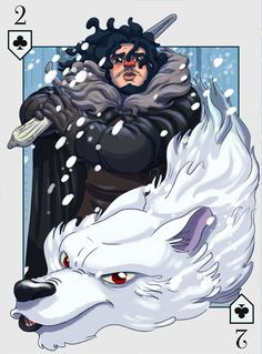 """""""The Cards of Ice and Fire"""" was organized by artist Fabio Alencar out of Brazil, where they composed a deck of cards using Game of Thrones as their influence. Each card is unique in that every card is done by a different Brazilian artist. Game Of Thrones Cards, Snow Artist, Game Of Thones, Playing Card Games, Vintage Playing Cards, Character Design References, Winter Is Coming, Deck Of Cards, Laos"""