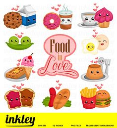 This Listing is for 32 design elements. This digital clipart set is perfect for use in greeting cards, scrapbooking, party invitations, decorations, and more! Cute Drawlings, Food Png, Food Clips, Clip Art, Cute Clipart, Clipart Design, Food Illustrations, Cute Food, Cool Things To Make