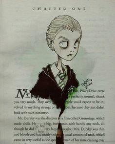 Draco Malfoy by Alef Vernon Tim Burton inspired