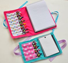 PDF  Double Doodle Crayon Wallet & Chalk by cutiepatootiPATTERNS, $6.50