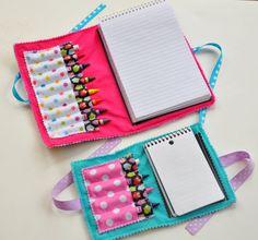 PDF  Double Doodle Crayon Wallet & Chalk by cutiepatootieshop, $6.50