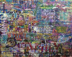 Graffiti art Painting of Inspirational by RonitGallery on Etsy