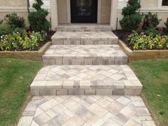 Paver Walkway Design Garden | advice for your Home Decoration ...