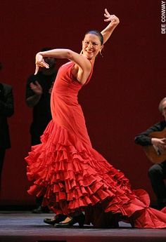 Charo Espino, flamenco dancer