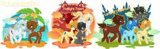 Kingdom Heart Ponies