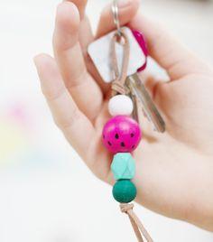 Schlüsselanhänger im Melonenstyle!