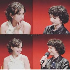 Millie Bobby Brown & Finn Wolfhard