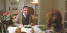 84 Charing Cross Road 1987 Anthony Hopkins in a scene having dinner with his Irish wife played by Judi Dench!!