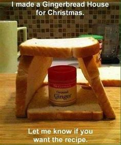 I made a Gingerbread House for Christmas. Let me know if you want the recipe.