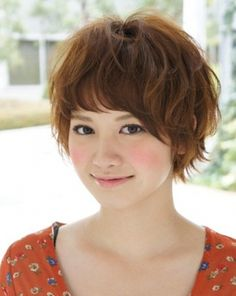 Short Pony Japanese Hairstyles For Teenage 2013