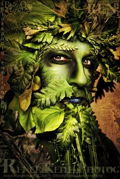 Green Man ~  Design and Photography by Renee Keith