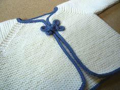 Free Pattern: St. Matilda's Garter Stitch Jacket by St. Matilda
