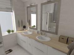 jasne łazienki aranżacje - Szukaj w Google